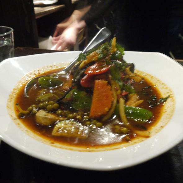 Vegetarian Jungle Curry @ Home Thai Restaurant