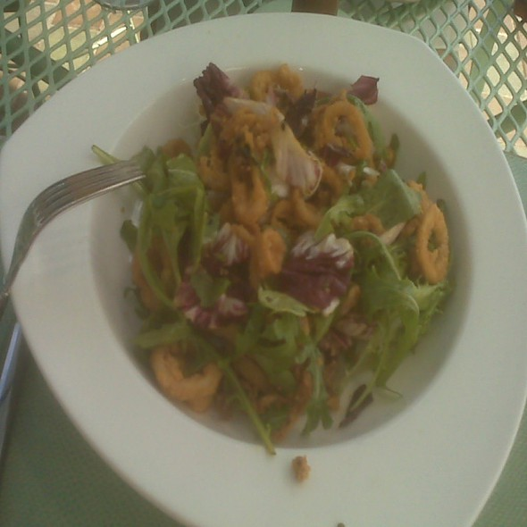 Crispy Calamari Salad - Battery Gardens, New York, NY
