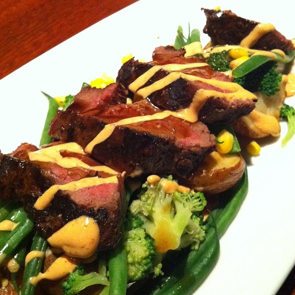 Grilled Buffalo Steak @ Seasons 52