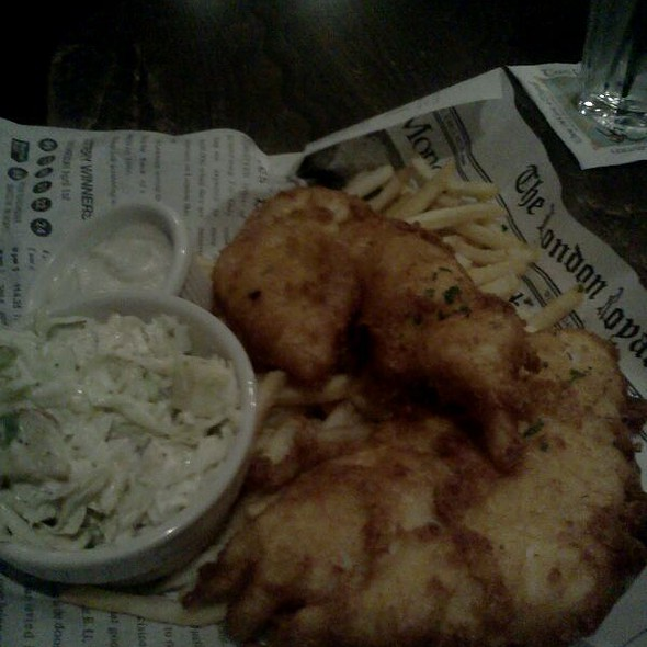 Fish and Chips @ Two Fools Tavern