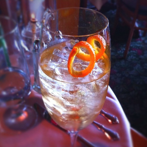 Lillet Aperitif @ The Oyster Bar