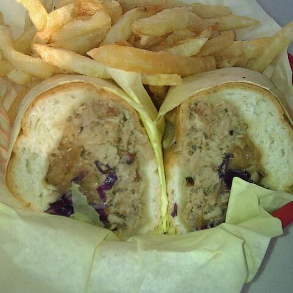 BBQ Pulled Pork Sandwich @ The Oinkster