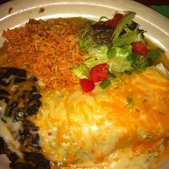The Kahuna Burrito At El Patio Mexican Restaurant