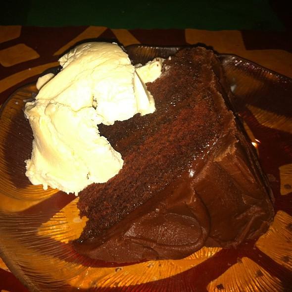 Mexican Chocolate Cake At El Patio Mexican Restaurant