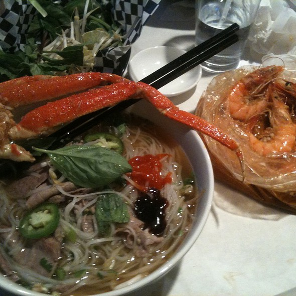 Pho Crab Legs & Jumbo Shrimp  @ The Asian Cajun