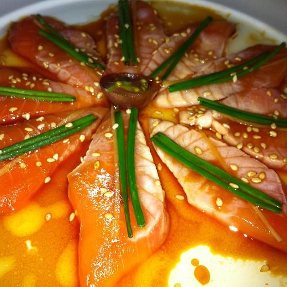 Salmon-New Sashimi Style - Nobu San Diego, San Diego, CA