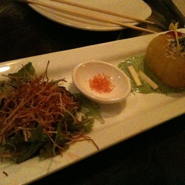 Hau`ula Tomato Salad @ Hiroshi's Eurasian Tapas