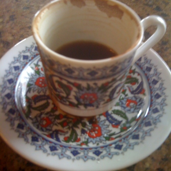 Turkish Coffee @ Cafe Zupinna