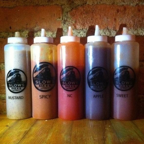 House BBQ Sauce @ Slows Bar-b-q