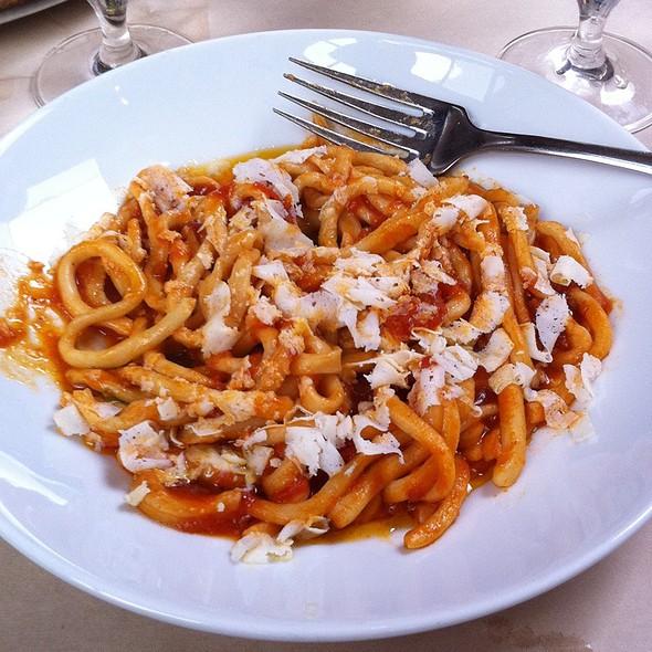 Maccaronara with Ricotta Salata @ A16