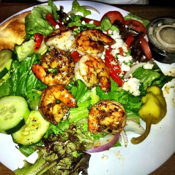 shrimp salad @ Taziki's Mediterranean Cafe