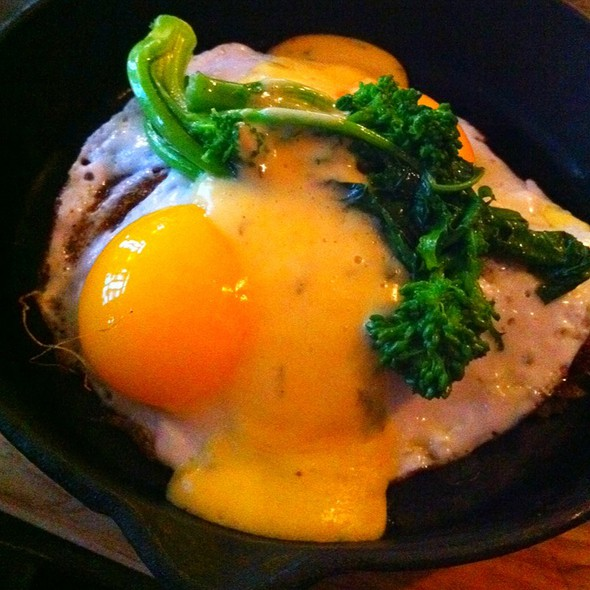 Duck Confit Hash With Eggs - Brinkley's Broome St., New York, NY
