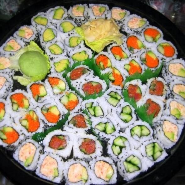 Super sushi platter @ Shoprite