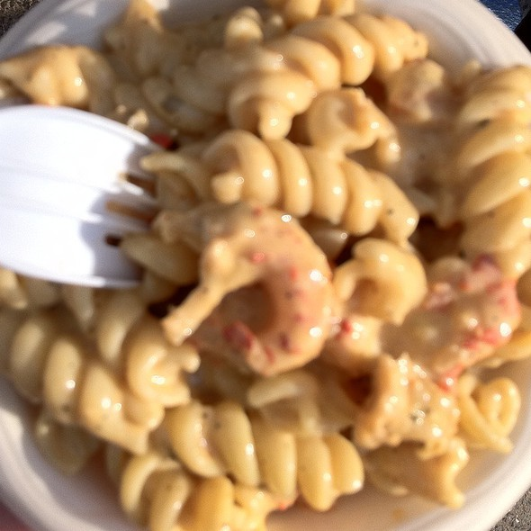 Pasta With Crawfish @ New Orleans Jazz & Heritage Festival