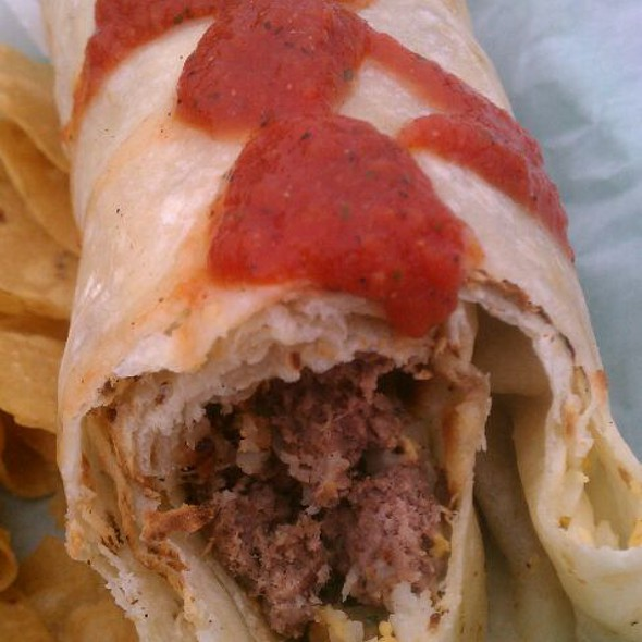 Elk Burrito