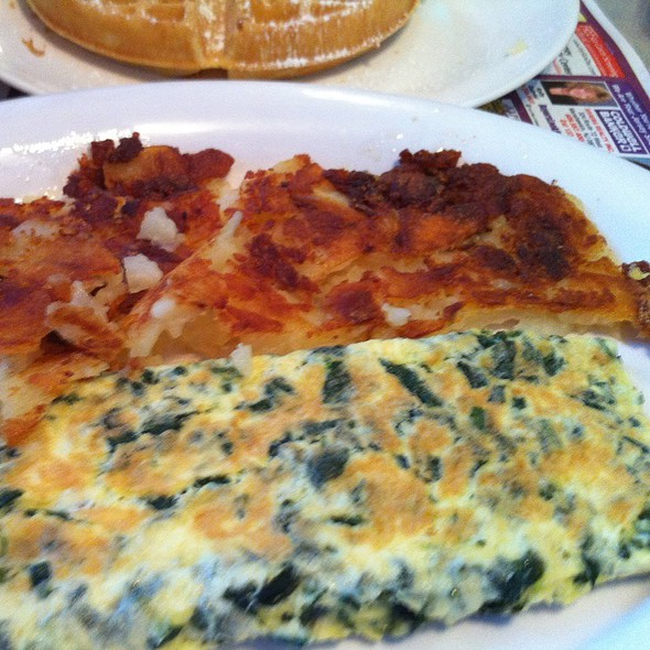 Spinach Omlete