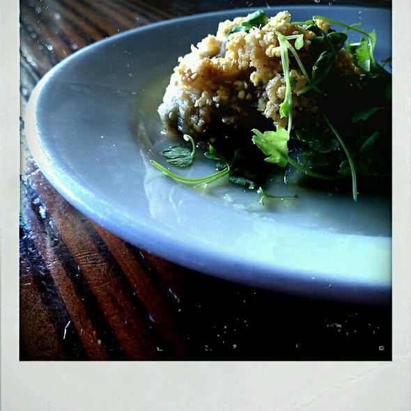 Cornmeal Fried Oysters @ Monk's Kettle