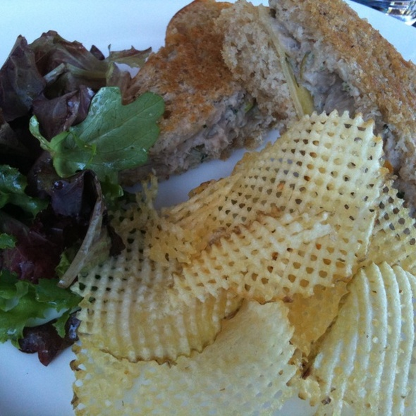 Tuna Sandwich @ Lafitte Restaurant