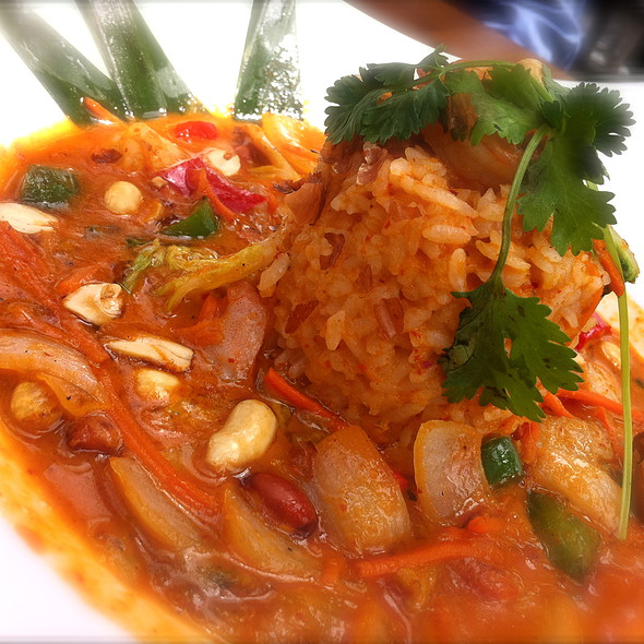 Prawn Panang Curry @ Joey Don Mills Grill