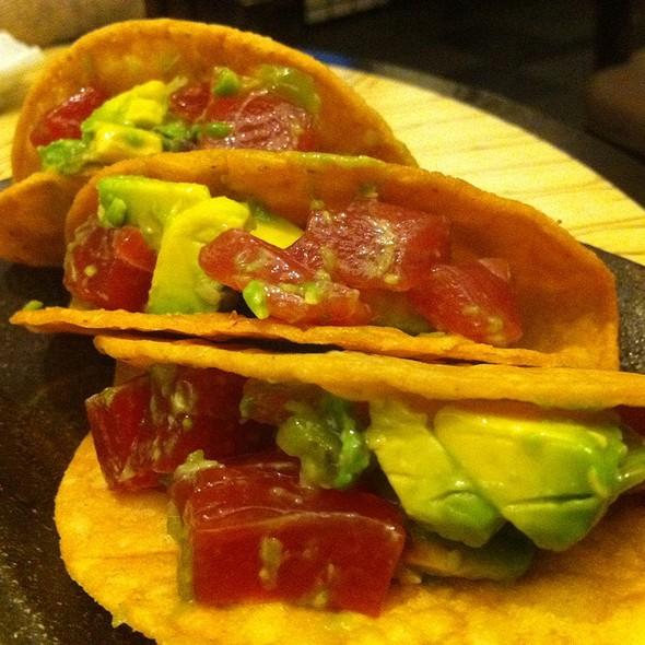 Spicy Tuna Tacos - Ise-Shima at the Miyako, Torrance, CA