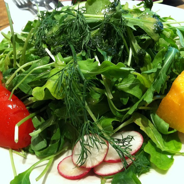 Raddish & Arugula Salad @ Le Pan Quotidiene