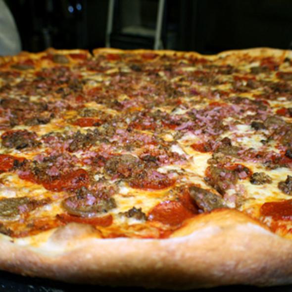 Carnivore Pizza @ Big Pie In the Sky Pizzeria