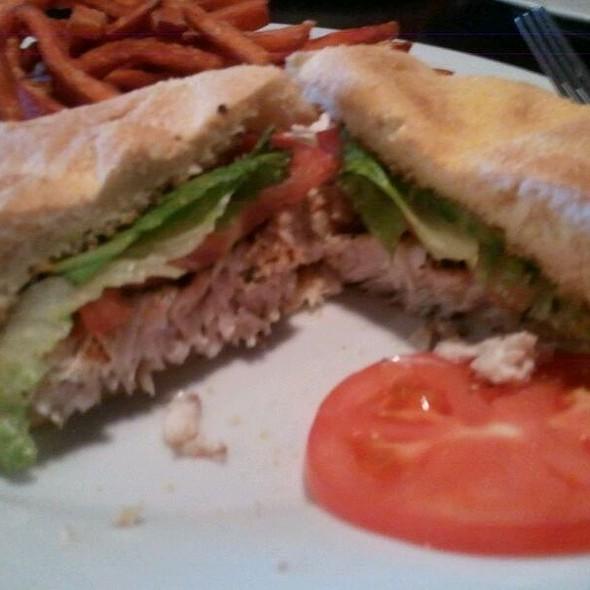 Mahi Mahi Sandwhich @ Portico Bar & Grill