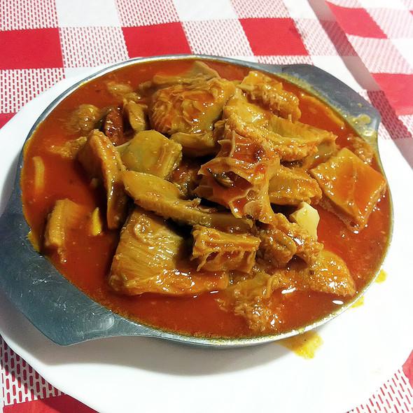beef tripe @ Venta San Isidro