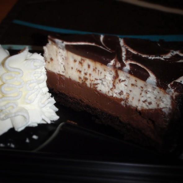 Chocolate Tuxedo Cheesecake Recipe Cheesecake Factory