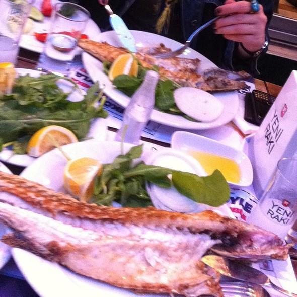 Izgara Deniz Levregi @ Kadı Nimet Balık Lokantası