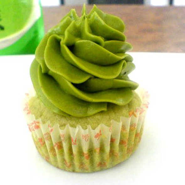Matcha Green Tea Cupcake @ Home
