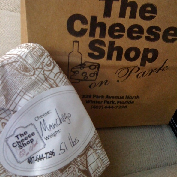 Manchego Cheese @ Cheese Shop On Park