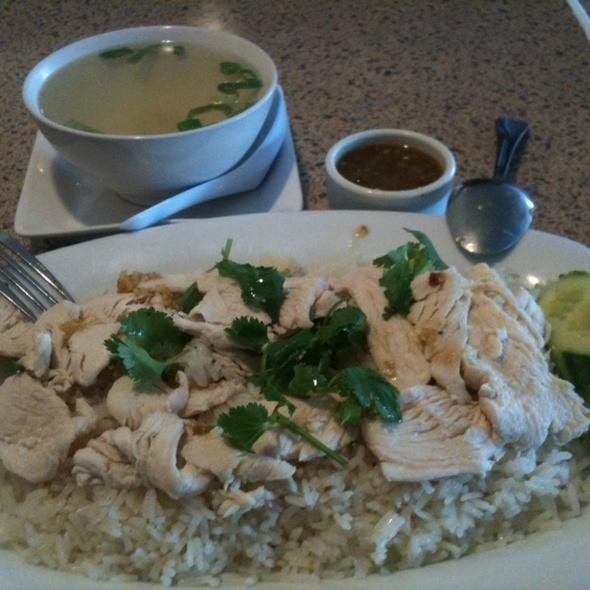 Kao Mun Kai @ Kapow Thai Cuisine