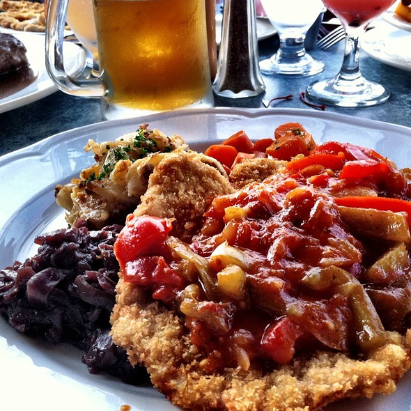Gypsy Schnitzel - The Black Forest Restaurant, Harrison Hot Springs, BC