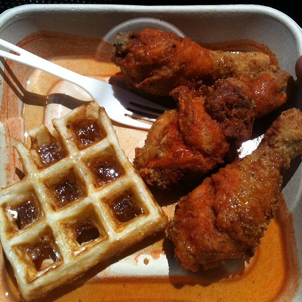 Fried Chicken and Waffles @ Outside Lands Festival