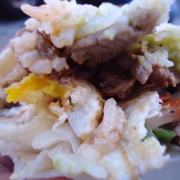 Tapsilog Burrito @ The WOW Truck