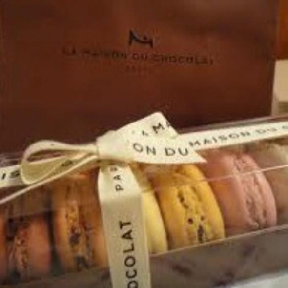 Macaroons @ La Maison Du Chocolat