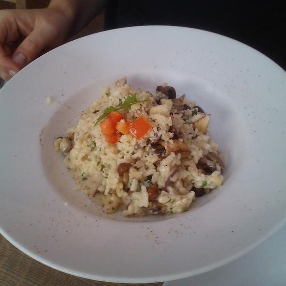 mushroom risotto @ Melcher's