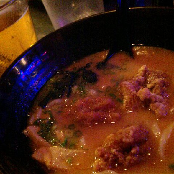 Spicy Fried Chicken Ramen @ Katana-ya