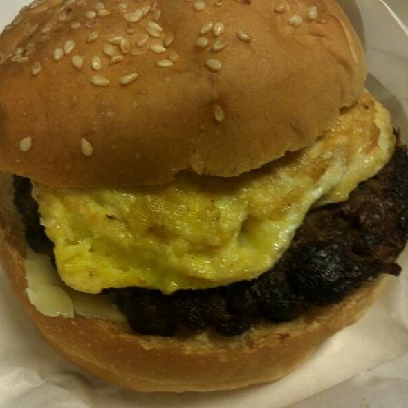 Breakfast Burger @ Malcolm's Burger