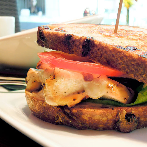 Grilled Chicken And Brie Sandwich @ Prestons