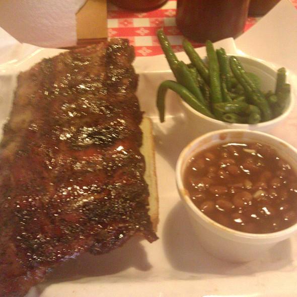 pork ribs @ Pappy's Smokehouse