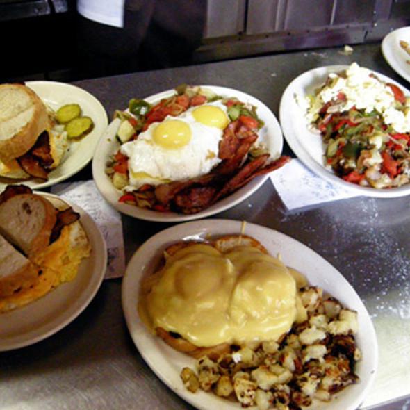 Breakfast Plates @ DeLuca's