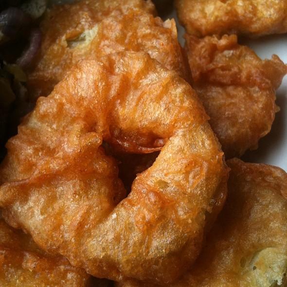 Fried Pickles - Pier Cafe, San Diego, CA