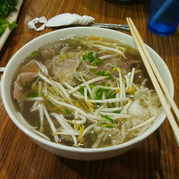 Special Combination Pho @ Pho Pasteur