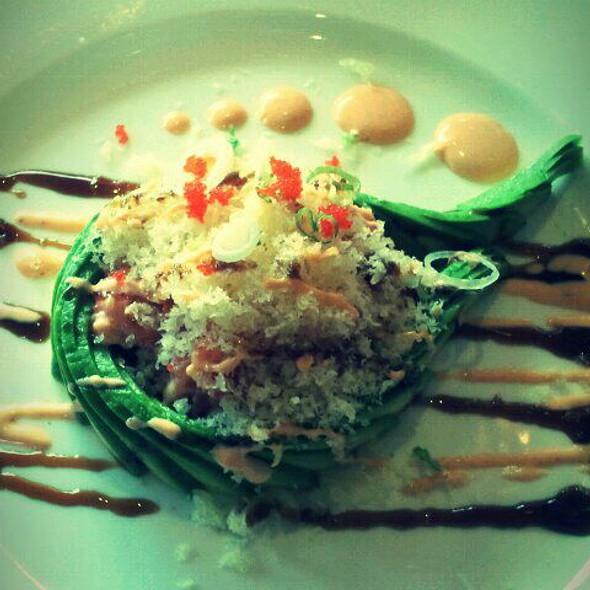Yellowtail Tartare @ Tomo Japanese Cafe