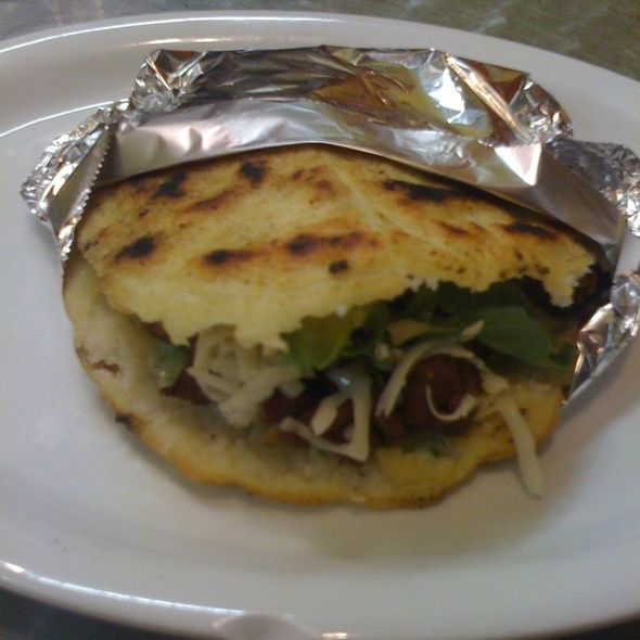 Pork Arepa @ Mr. Pollo