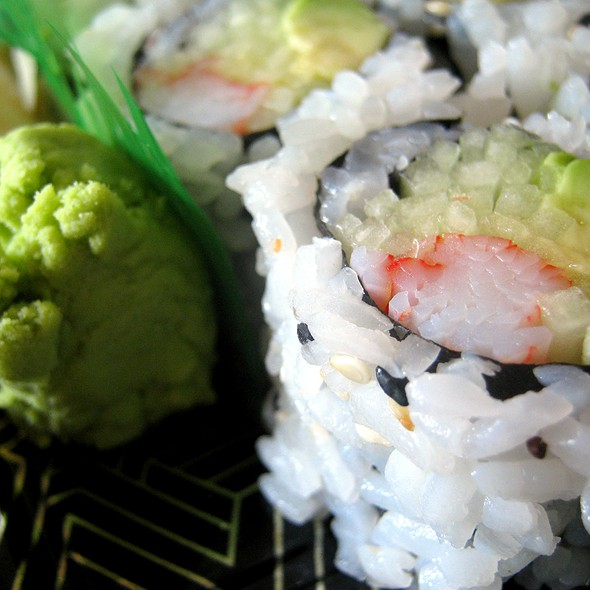 California Roll @ Rainbow Heaven Restaurant