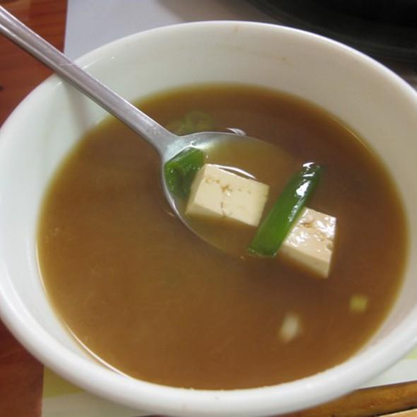 Miso Tofu Soup @ Modurang