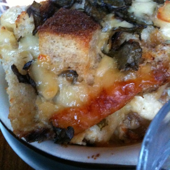 Savory Bread Pudding @ Outerlands